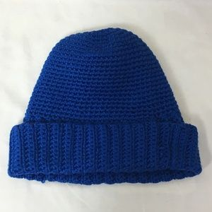 *SALE* Jones New York Blue Knit Beanie